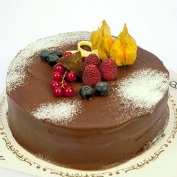 Kringla Svolvær - Sjokoladekake