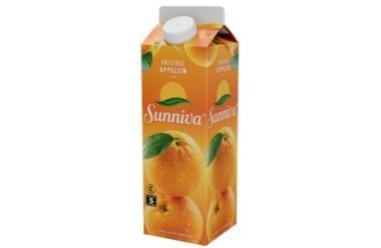 Tromsø Bakeri - Juice sunniva appelsin 0,5 liter