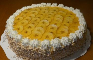 Bagare Brage - Rysk banantårta