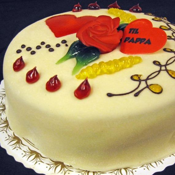 Granum bakeri og konditori - Marsipankake