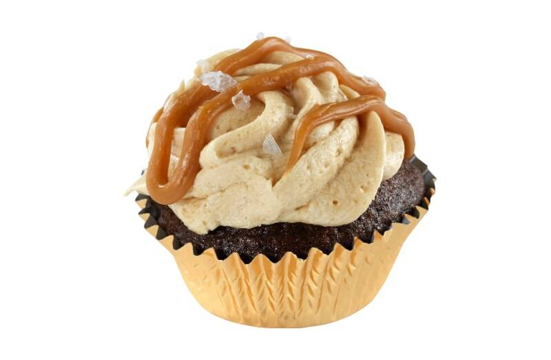Nærbakst - Mini Salt Caramel Cupcake