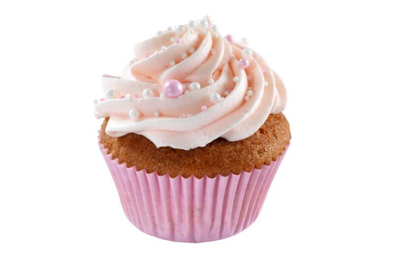 Nærbakst - Baby Pink Cupcake