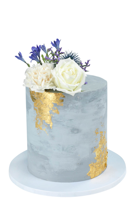 Cakes by Hancock - Concrete Gold