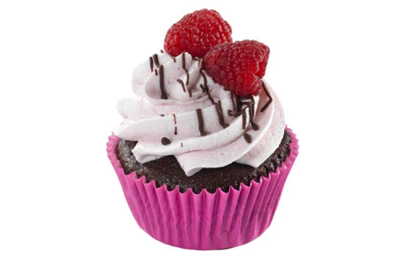 Nærbakst - Choco Raspberry Cupcake