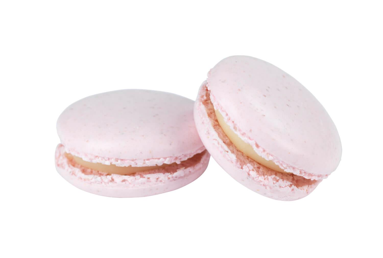 Cakes by Hancock - Blush Pink White Chocolate Macarons