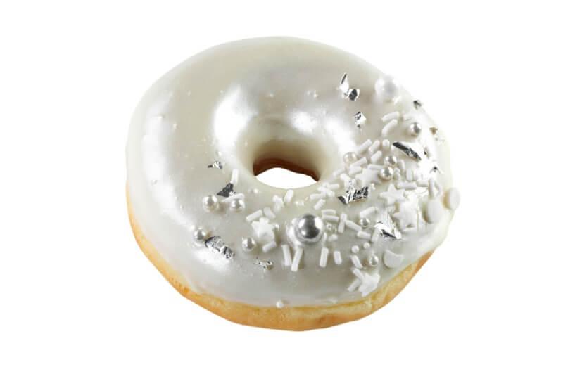 Cakes by Hancock - Silver Doughnut