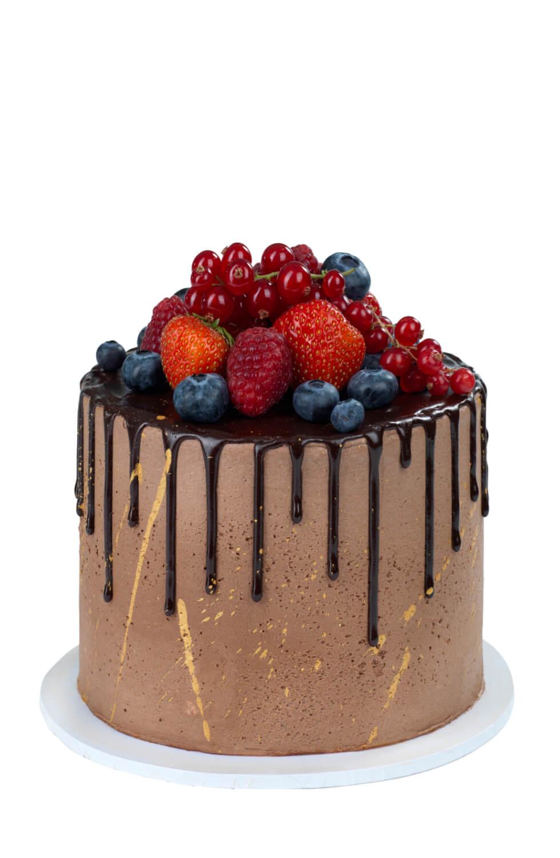 Cakes by Hancock - Chocolate Berry Cake