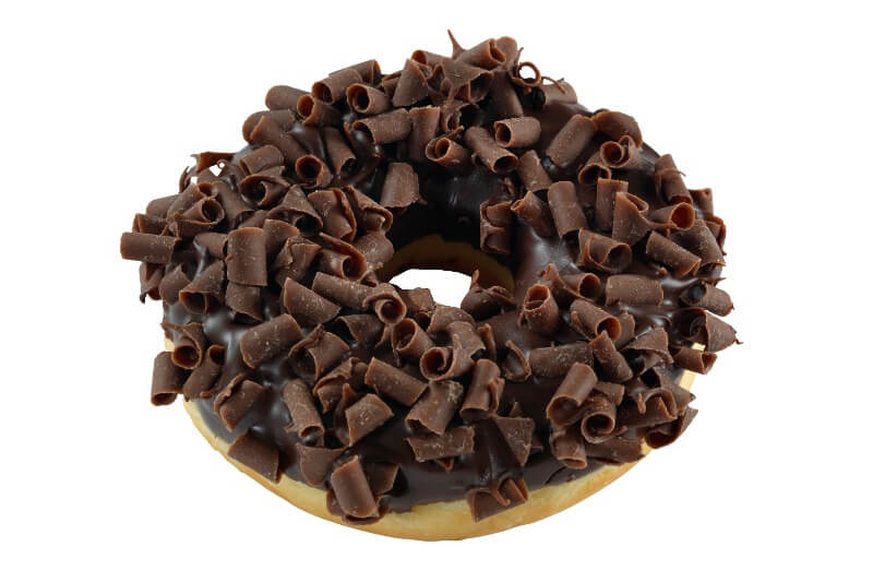 Nærbakst - Choco Thunder Doughnut