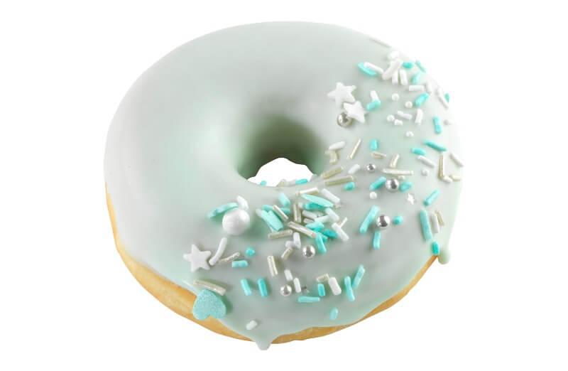 Nærbakst - Baby Blue Doughnut