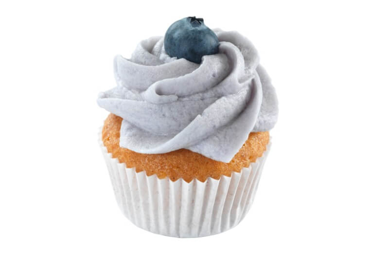 Cakes by Hancock - Mini Blueberry Cupcake