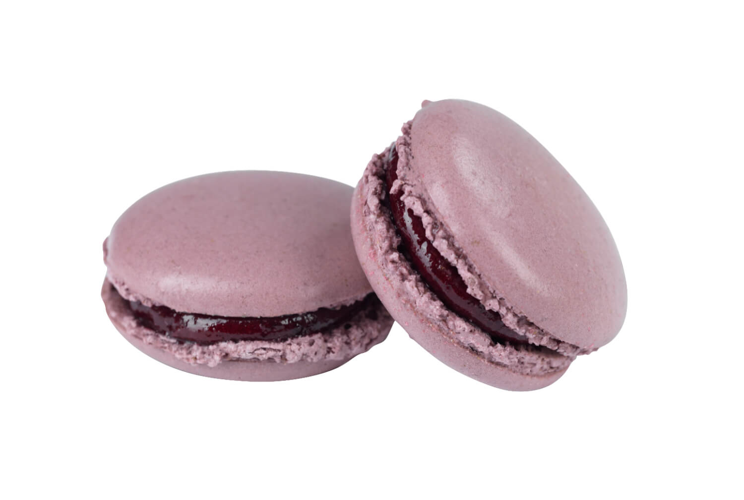 Cakes by Hancock - Black Currant Macarons