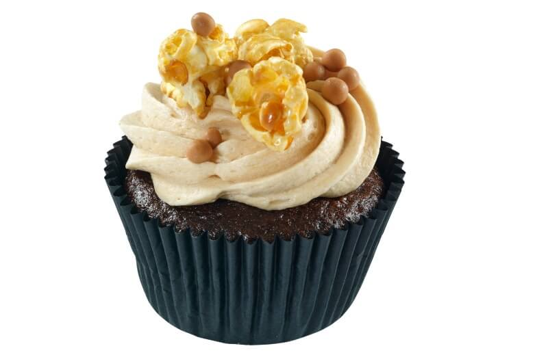 Hjemmebakeriet - Popcorn & Caramel Cupcake