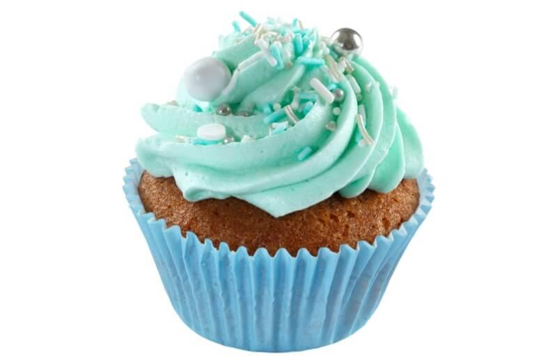 Hjemmebakeriet - Baby Blue Cupcake