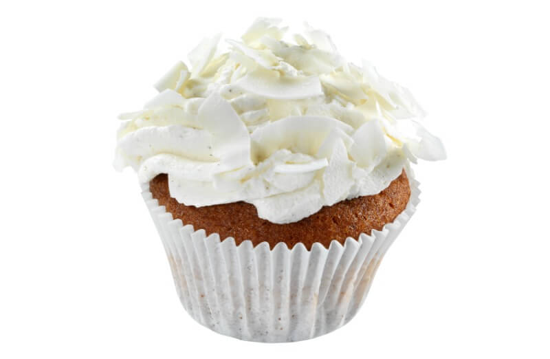 Nærbakst - Coconut Cupcake