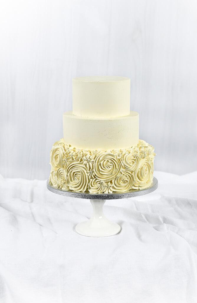Cakes by Hancock - Rosette Bryllupskake