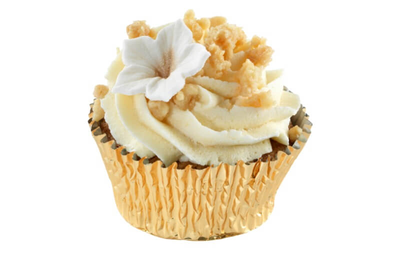 Hjemmebakeriet - Apple Crumble Cupcake