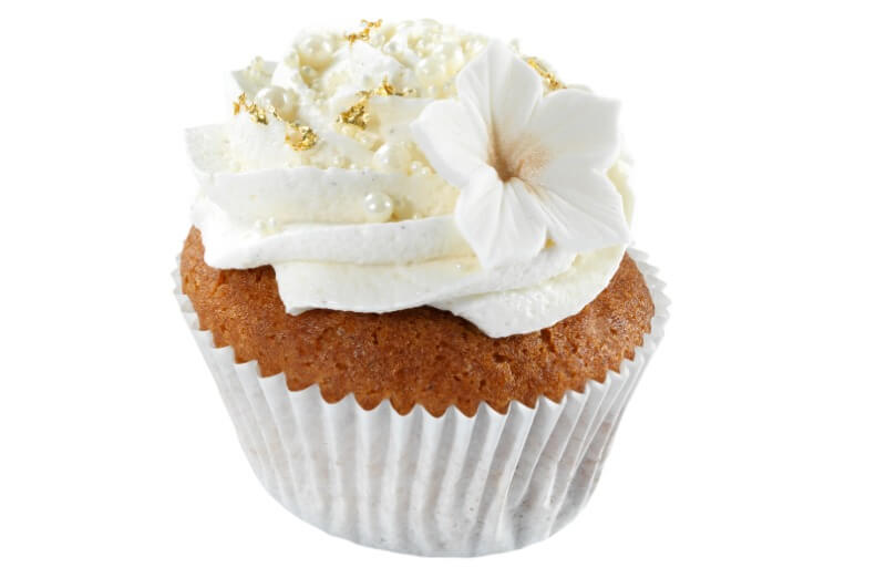 Hjemmebakeriet - Gold Cupcake