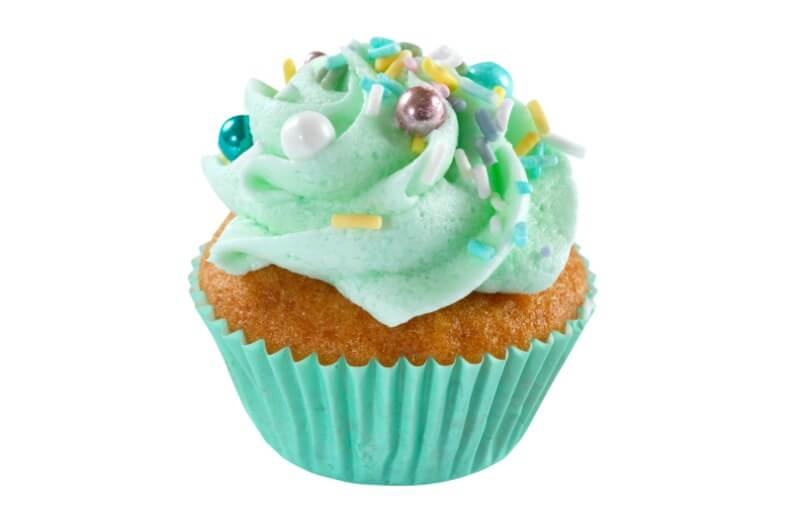 Hjemmebakeriet - Mini Mint Green Cupcake