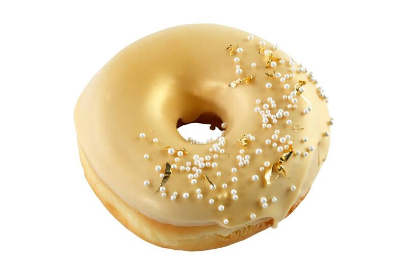Cakes by Hancock - Gold Doughnut