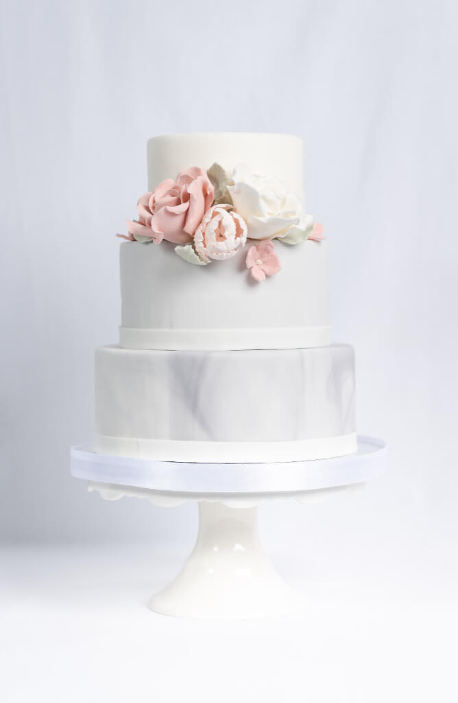 Cakes by Hancock - Isabella Bryllupskake