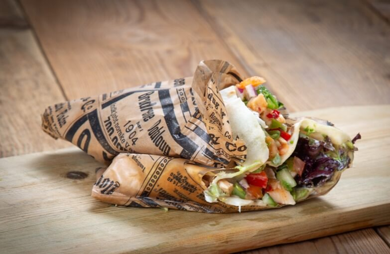 Ryfylket bakeri & konditori - Wraps med kylling