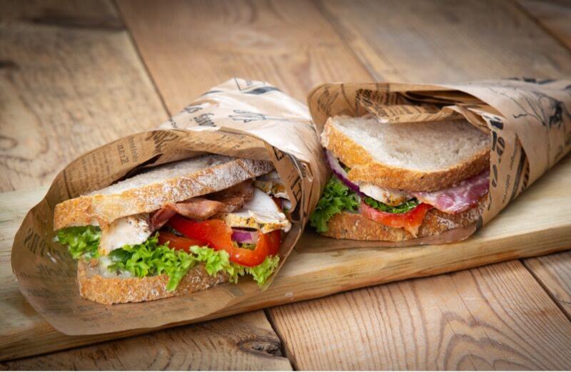 Ryfylket bakeri & konditori - Club sandwich