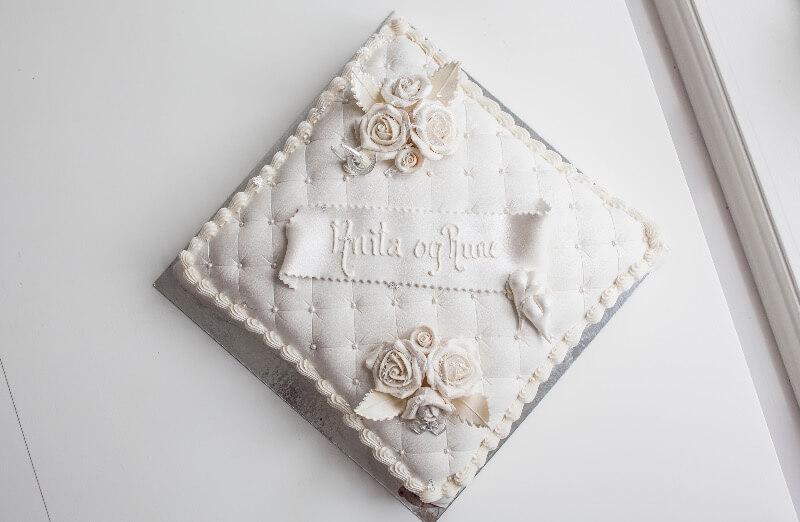 Rosenborg bakeri - Putekake til bryllup