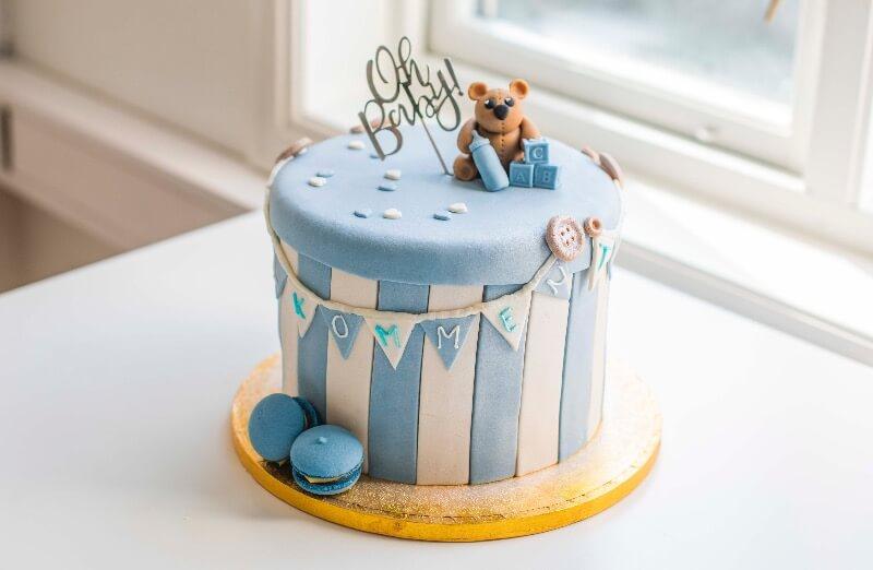 Rosenborg bakeri - Babyboks kake