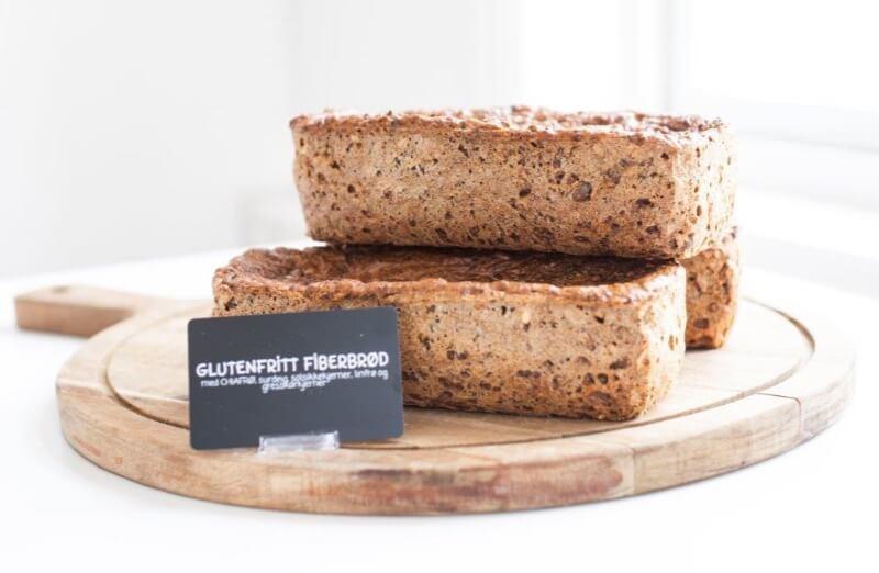 Rosenborg bakeri - Glutenfritt fiberbrød