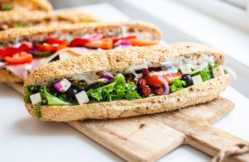 Rosenborg bakeri - Vegetarianer
