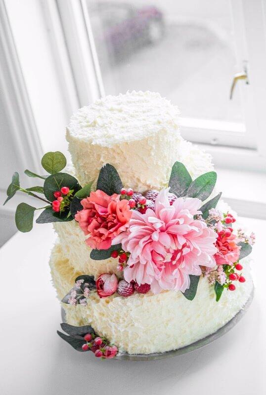 Rosenborg bakeri - Naked cake Fluff 3 etg.