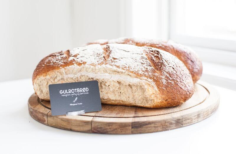 Rosenborg bakeri - Gulrotbrød