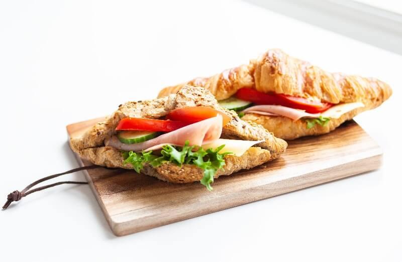 Rosenborg bakeri - Croissant med ost og skinke