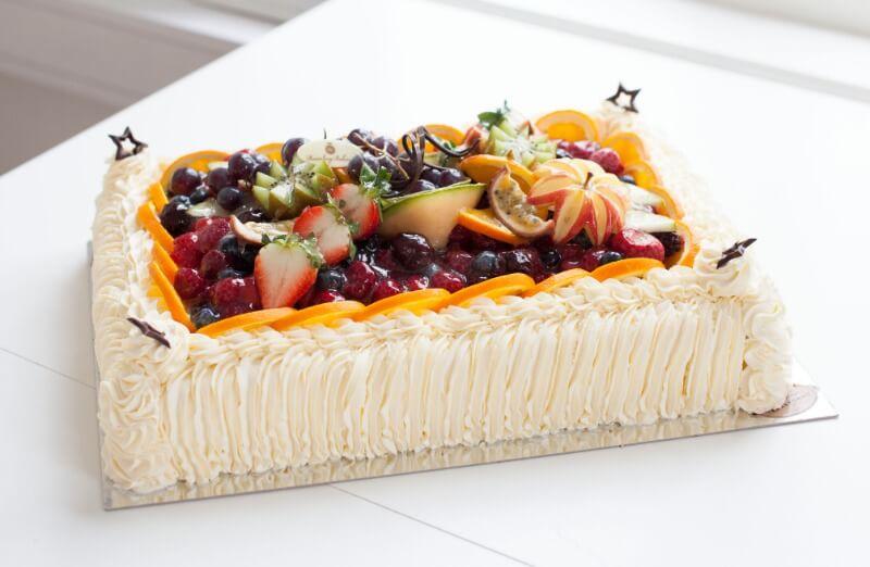 Rosenborg bakeri - Caribbean tropisk fruktkake