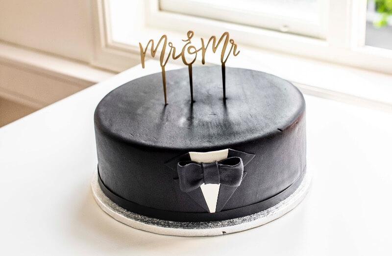 Rosenborg bakeri - Mister & Mister kake