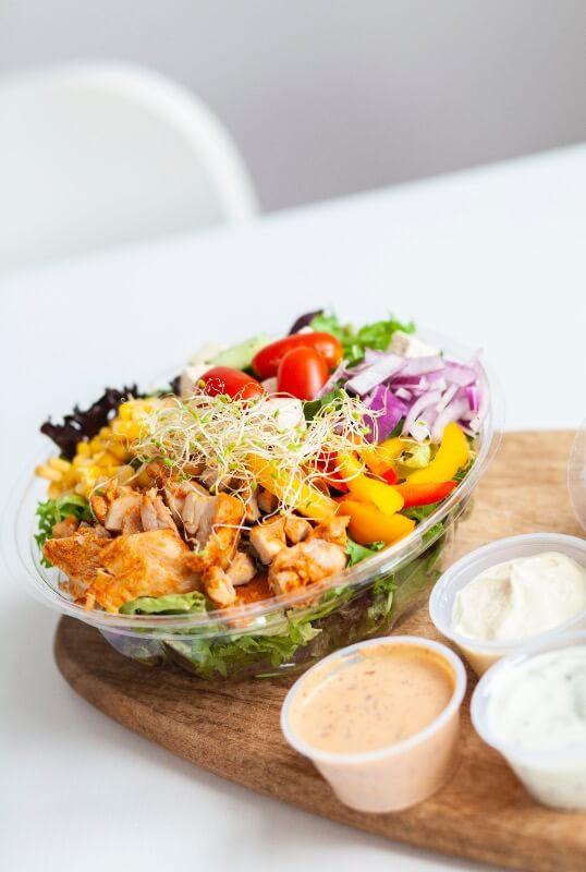Rosenborg bakeri - Salat med kylling
