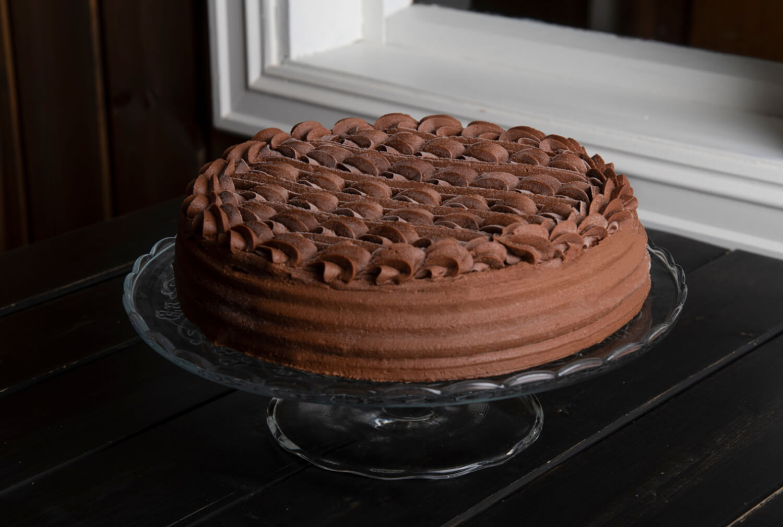 Ødegaarden Bakeri - Sjokoladekake