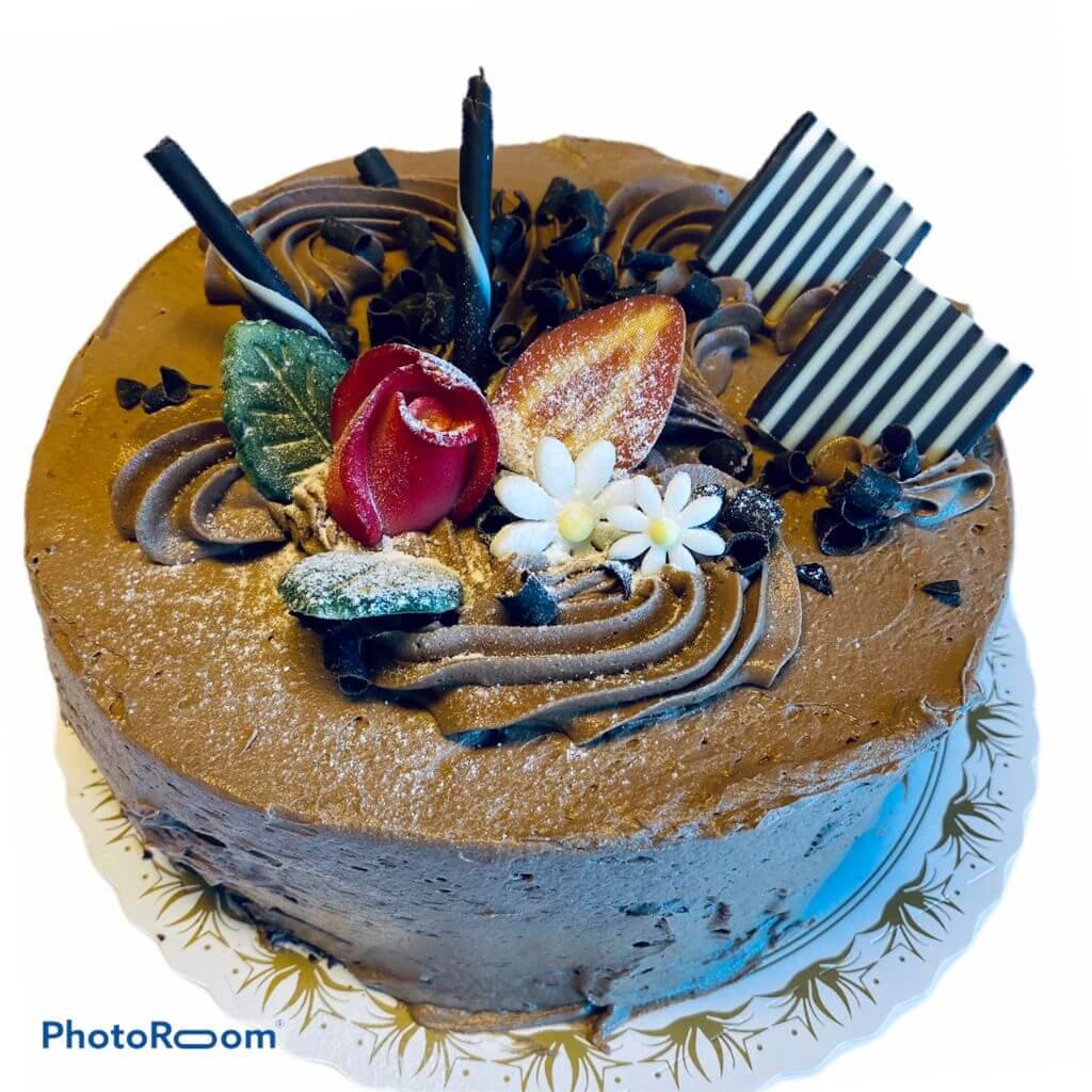 Edgars Bakeri og Konditori - Sjokoladekake