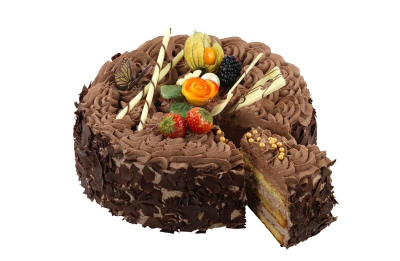 Nærbakst - Kremsjokoladekake