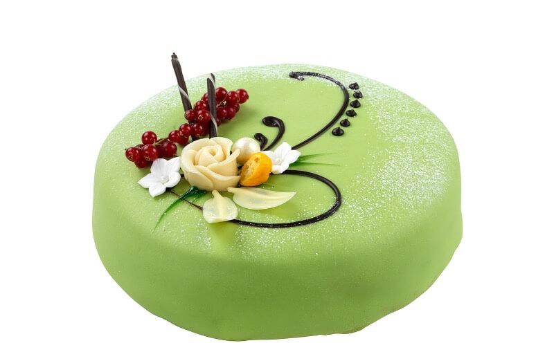 Nærbakst - Lugano kake