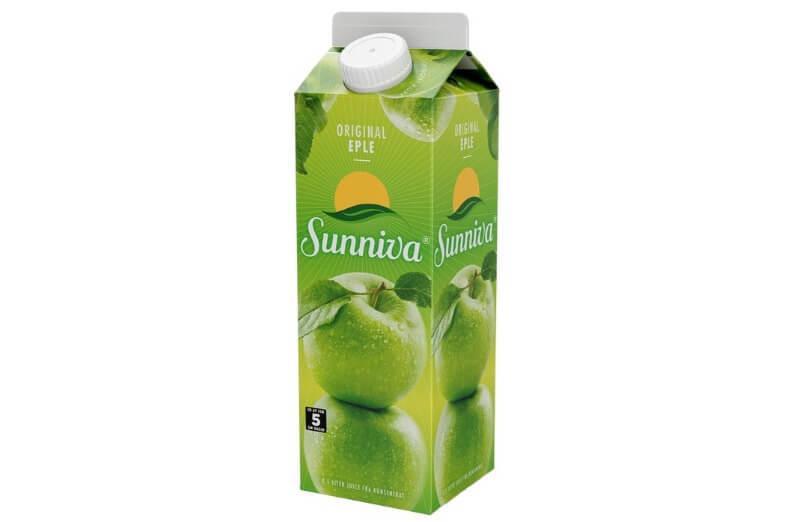Tromsø Bakeri - Juice sunniva eple 0,5 liter