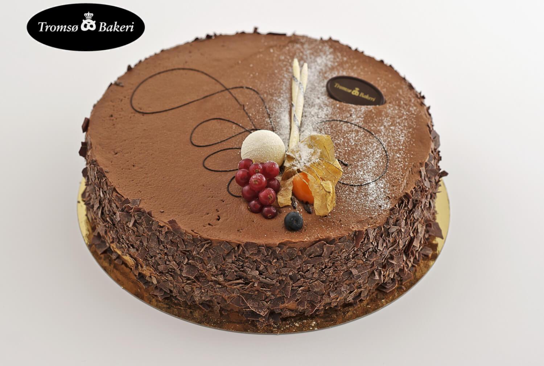 Tromsø Bakeri - Sjokoladekake