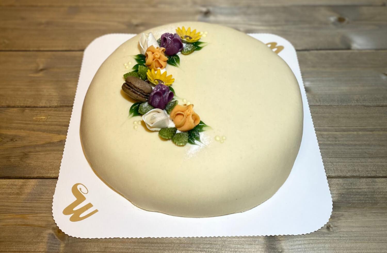 Westre bakeri - Marsipankake