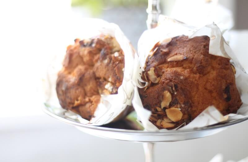 Baker Brun - Eplemuffins