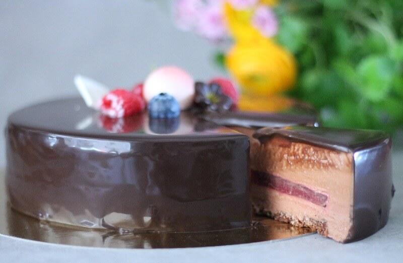 Baker Brun - Chilimousse kake
