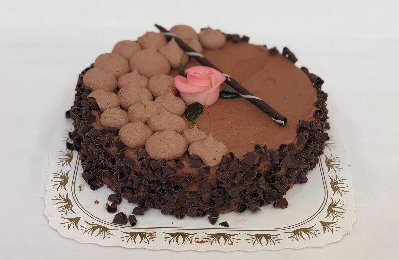Bergshaven Bakeri og Konditori - Sjokoladekake