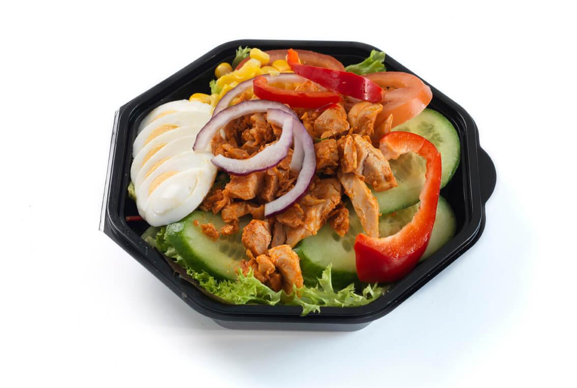 Nærbakst - Salat med kylling