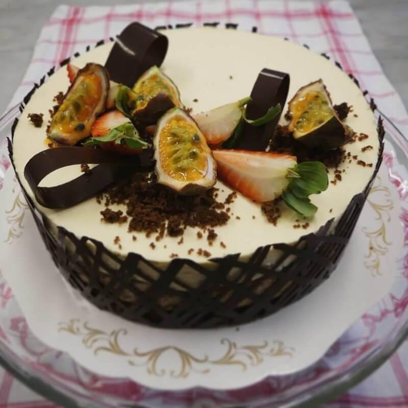 Bagare Brage - Moussetårta