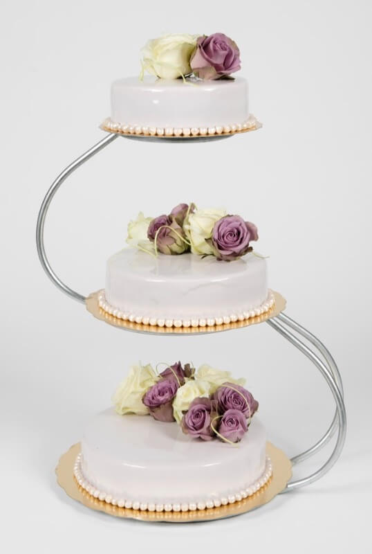 Cederleüfs & Svenheimers - Bröllopstårta sommar
