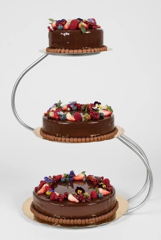 Cederleüfs & Svenheimers - Bröllopstårta choklad